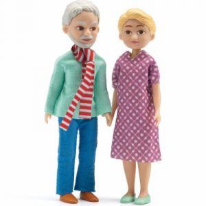 Djeco Grands-parents - Figurines pour maison de poupées