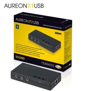 TerraTec Electronic Aureon 7.1 USB (10715) - Carte son externe 7.1 USB