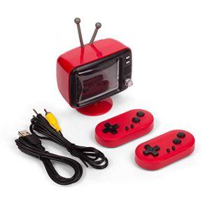 Orb Gaming Orb-Rétro Console Mini TV (Rouge) avec 2 manettes sans Fil-y Compris 300x 8-Bit Jeux, B07PFQK7GF