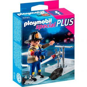 Playmobil 4795 Special Plus - Pompier soldat du feu