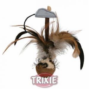 Trixie Balle à plume pour chat