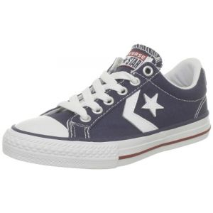 Image de Converse Star Player Ev Canvas Ox, Baskets mode mixte enfant - Bleu (Marine), 35 EU