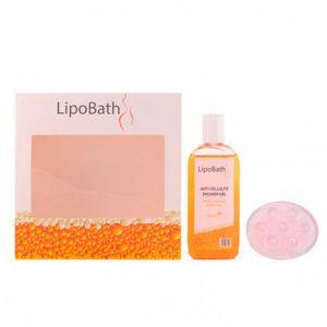 LIPOBATH Innoatek - Gel douche anti-cellulite + masseur