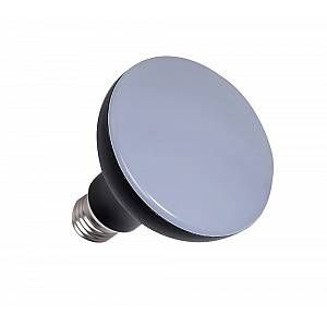 Ampoule LED aluminium R90 E27 - Noir - 12 W équivalence incandescence 75 W, 1000 lm - 4 000 K
