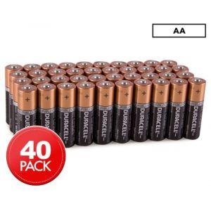 Duracell Pile pack de 40 piles AA