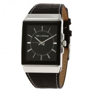 Ted Lapidus 5114005 - Montre pour homme avec bracelet en cuir