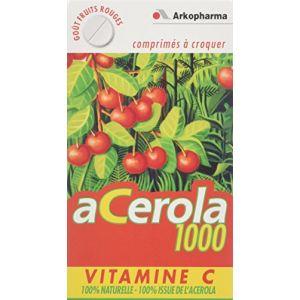 Arkopharma Acérola 1000 - 30 comprimés à croquer
