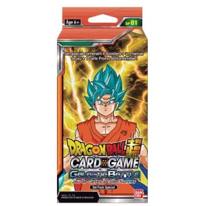 Bandai Spécial Pack Dragon Ball Super Série 1 Galactic Battle