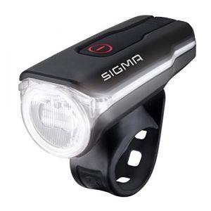 Sigma Sport Aura 60 USB - Éclairage vélo - noir/transparent Lampes avant