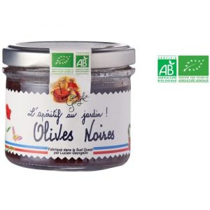 Lucien georgelin Olives Noires - Bio - Tartinable - 100 g