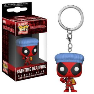 Funko Pocket Pop Keychain Playtime: Deadpool Bathtime, 31734, Multi