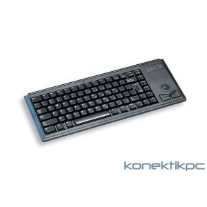 Cherry Compact-Keyboard G84-4400 - Clavier filaire PS/2 avec Trackball intégrée