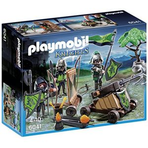 Playmobil 6041 Knights - Loup Chevaliers avec catapulte