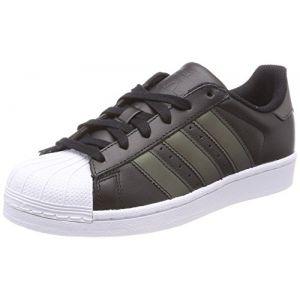 Adidas Originals Baskets Superstar Adicolor, Noir (Core Black/Core Black/Footwear White 0), 37 1/3 EU
