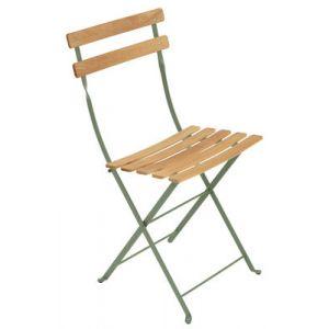 Fermob Bistro - Chaise de jardin pliante métal & bois