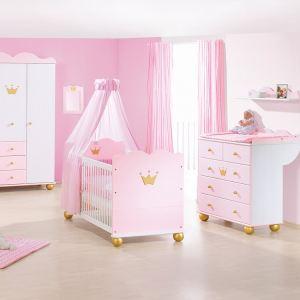Pinolino 101655G - Chambre complète bébé Princesse Caroline