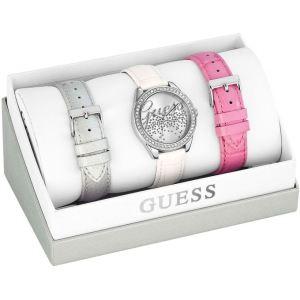 Guess W0201 - Coffret montre pour femme avec 3 bracelets