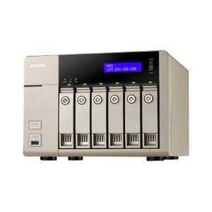Qnap TVS-663-8G - Serveur NAS 6 Baies