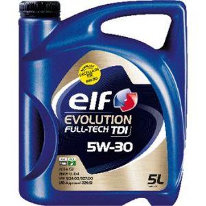 Elf Huile moteur Evolution Full-Tech TDI 5W30 Essence et Diesel 5 L
