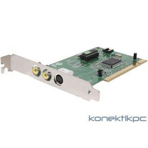 Dexlan 303520 - Carte d'acquisition 2 port RCA + 1 S-vidéo PCI