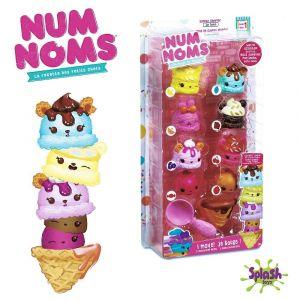 Splash Toys Num Noms 2 Nom motorisés + 6 Nums (modèle aléatoire)