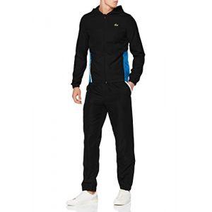 Lacoste Sport WH8606 Ensemble de Sport, (Noir/Sumatra-Blanc 4xu), Large (Taille Fabricant:5) Homme