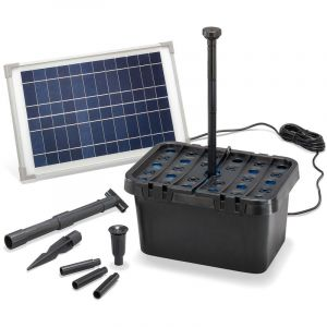 Esotec Filtre de bassin solaire Professional 12W 650 l/h Pompe de bassin de jardin 100901