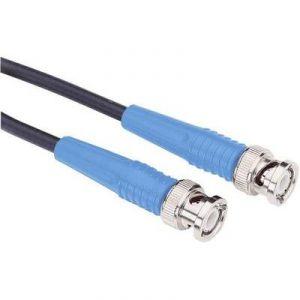 Testec 81033 - Câble de mesure BNC 2m bleu