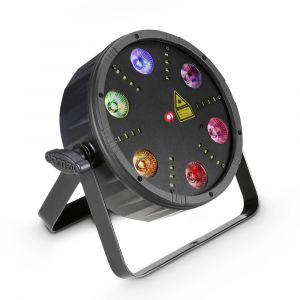 Cameo FLAT STORM Projecteur à effets LED avec laser