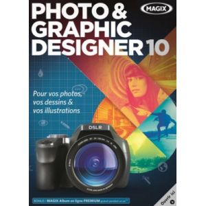 Photo & Graphic Designer 10 [Windows]