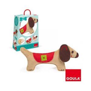Goula Kit de couture Couds ton chien Milo