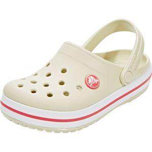 Crocs Crocband Clog Kids, Sabots Mixte Enfant, Beige (Stucco/Melon), 23-24 EU