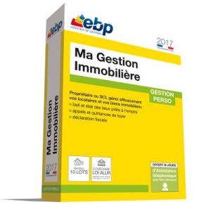 Ma Gestion Immobilière 2017 version 10 Lots pour Windows