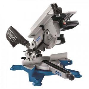 Scheppach Scie a onglet pendulaire 254 mm 1800 W avec table supérieure 230 V HM100T