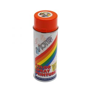 Motip Bombe de peinture orange brillant RAL 2004 400 ml M01605