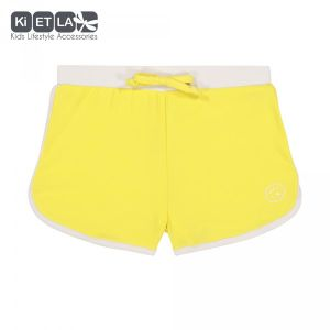 Ki ET LA Maillot de bain short anti-UV Screech yellow (18 mois)