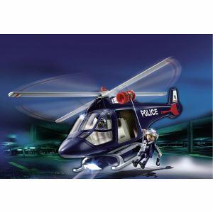 Playmobil 5183 - Hélicoptère de police avec projecteur