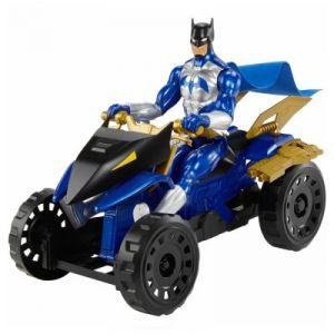 Mattel Bat Quad tout terrain Batman Unlimited - Véhicule et figurine 30 cm