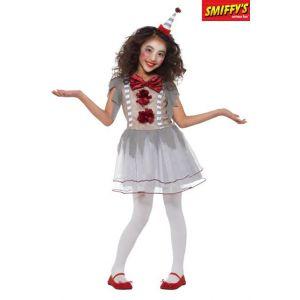 Smiffy's Déguisement Fille - Clown Vintage - Taille 7-8 ans