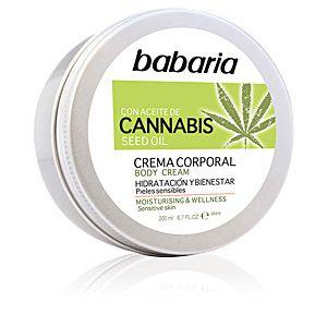 Babaria Cannabis crema corporal hidratante y bienestar 200 ml