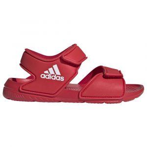 Adidas ALTASWIM C, Basket Mixte Enfant, Scarlet FTWR White Scarlet, 30 EU