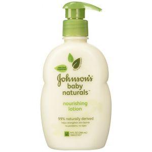 Johnson & Johnson Baby Natural Nourishing Lotion