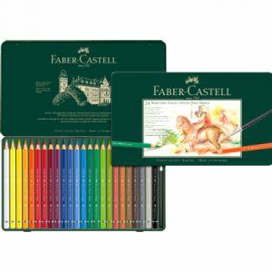 Faber-Castell 24 crayons de couleurs aquarellables A.Durer Magnus - Boîte métal