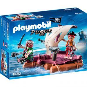 Playmobil 6682 Pirates - Radeau avec pirates des ténèbres