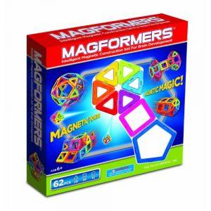 Magformers 2042616 - Jeu de construction 62 pièces