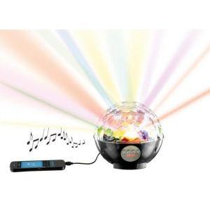 Clip Sonic TES119N Haut-parleur boule disco Bluetooth