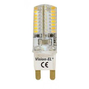 Vision-El Ampoule Led 3W (30W) G9 230V Blanc chaud