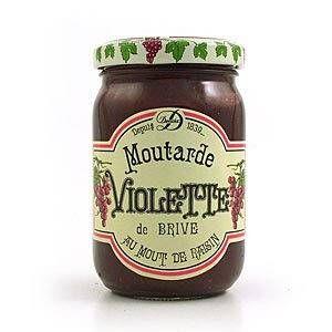 Maison Denoix Moutarde Violette de Brive 200g