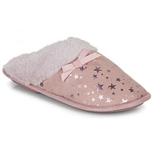 Isotoner Chaussons Chaussons mules femme étoiles rose - Taille 36,37,38,39,40