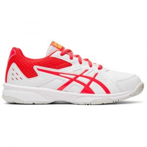 Asics Baskets Court Slide Gs - White / Laser Pink - Taille EU 35 1/2